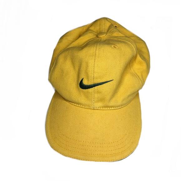 26b5eca0 Nike Accessories | Vintage Snapback Swoosh Logo 90s Cap | Poshmark